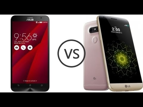 Top 2 Recent Launched Mobile Comparison - ASUS ZENFONE PEGASUS 3 VS LG G5