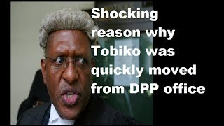 Shocking Reason Tobiko Was Moved From DPP office