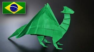 Origami: Dragão Nórdico - Instruções em Português PT-BR
