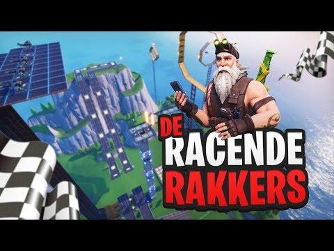 DE RACENDE RAKKERS - Fortnite Creative met Don, Harm, Rudi & Link