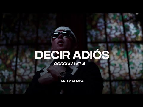 Cosculluela – Decir Adiós (Lyric Video) | CantoYo