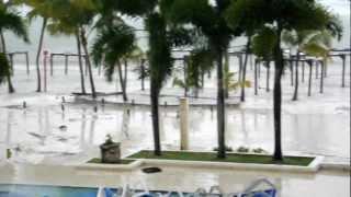 Hurricane Isaac in Dominican Republic