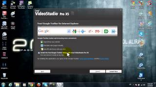 شرح تنصيب برنامج المونتاج Corel VideoStudio Pro X5.