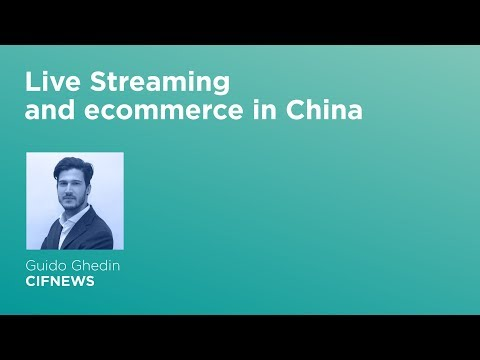 [Talk] Live streaming and ecommerce in China - Lengow Day 2017