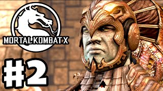 Mortal Kombat X - Gameplay Walkthrough Part 2 - Chapter 2: Kotal Kahn (PC, PS4, Xbox One)