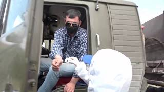На въезде в Севастополь медики и полиция проверяют автомобили