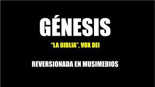 """Gambar cover Génesis [del álbum """"La Biblia"""", Vox Dei] - Reversionado en MusiMedios"""