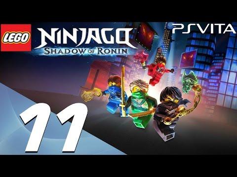 Lego Ninjago Shadow of Ronin - Walkthrough Part 11 - Chen's Palace & Portal Dive