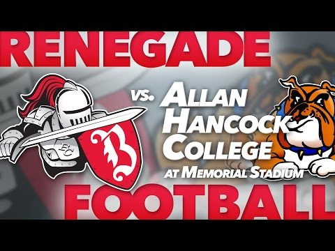 1st Quarter - Renegades vs Allan Hancock College