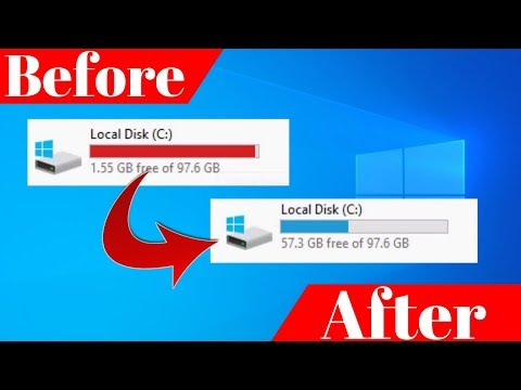 How to clean C Drive In Windows 10 Make 20x Faster 100% Laptop PC