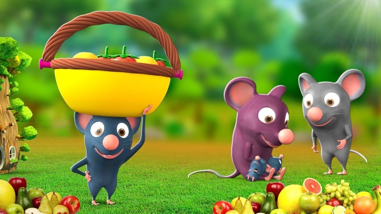 नन्हा चूहा - The Little Mouse Story   3D Animated Hindi Moral Stories   JOJOTV Hindi Kahaniya