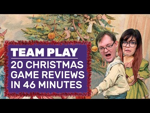 Let's Play And Review 20 Christmas PC Games In 46 Minutes!