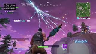 THE SKY CRACKED OPEN?! ROCKET LAUNCH FROM SNOBBY SHORES REACTION (FORTNITE BATTLE ROYALE EVENT)