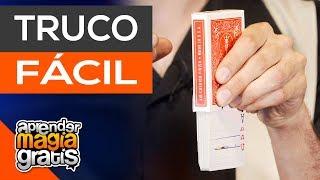 El truco de magia mas facil , las cartas antigravedad
