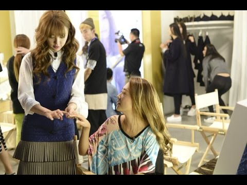 Yoon Eun Hye 윤은혜 Impresses Competitor Cherrie Ying in Muse Dress 2 ( Behind The Scene )