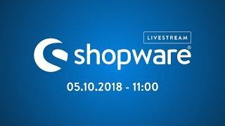 004 🔴 Shopware Development - Insights und aktuelle Projekte – Livestream | 05.10.2018