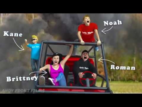 Roman Atwood   3D Animated Parody (By Andy Front Films)