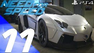 Need For Speed 2015 - Gameplay Walkthrough Part 11 - Lamborghini Aventador Tuning & Speed