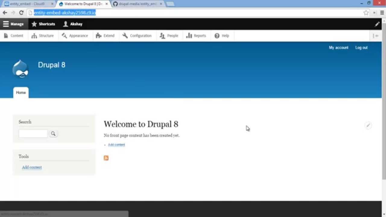 Drupal 8: Entity Embed Module | Akshay Kalose