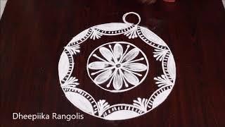 Latest freehand rangoli design for sankranthi * pongal special kolams * easy rangoli