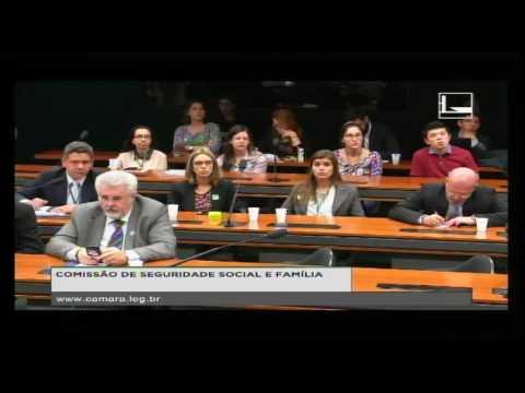 SEGURIDADE SOCIAL E FAMÍLIA - Audiência Pública - 04/10/2016 - 09:45