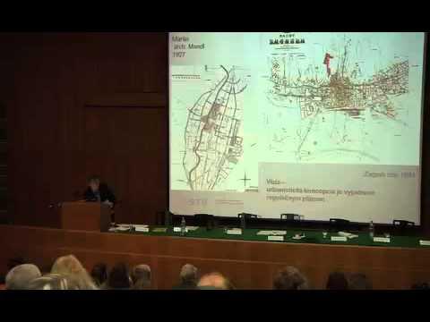"""Bohumil Kováč (SK) - Conference """"The city in 2112"""", Bratislava, 2012"""