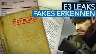 So erkennt ihr falsche E3-Leaks