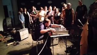 NOISE CAMP.  Aaron Dilloway at MOCAD. 7/18/15