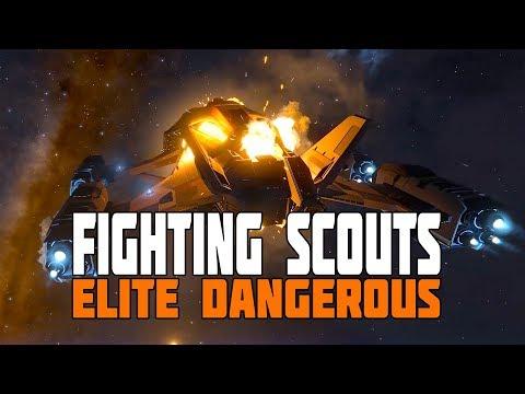 Elite Dangerous - Fighting the Thargoid Scouts - Is it worth it?