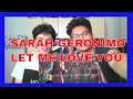 Sarah Geronimo Sings Let Me Love You By DJ Snake And Justin Bieber REACTION mp3
