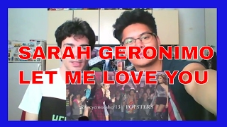 Sarah Geronimo sings Let Me Love You by DJ Snake and Justin Bieber REACTION