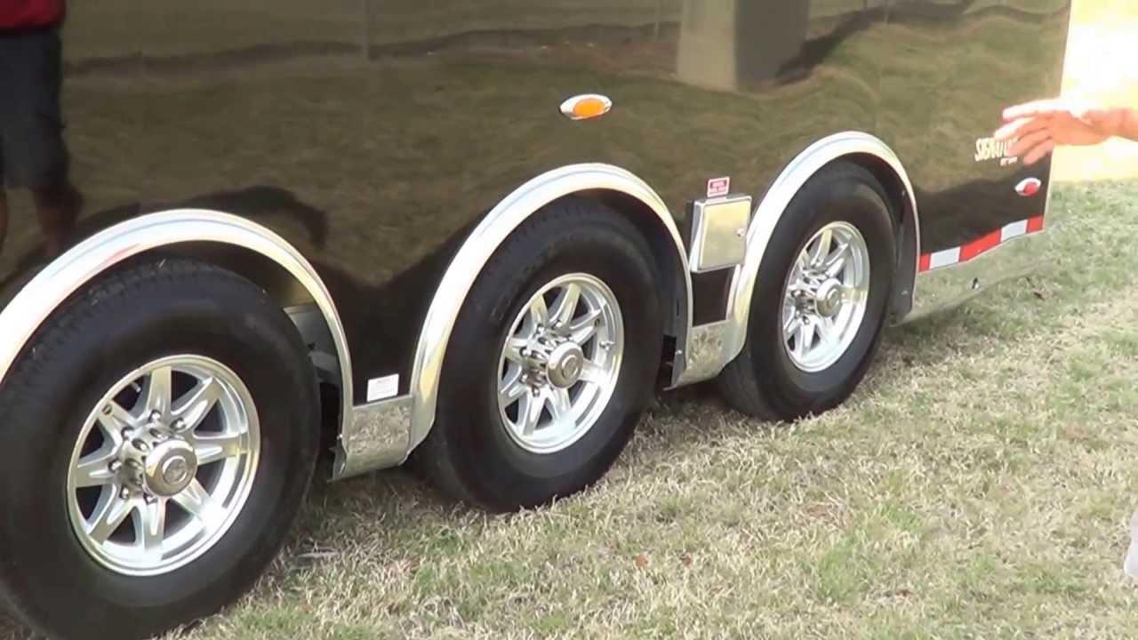 Custom Stacker Car Trailer @BestPriceTrailers.com - YouTube