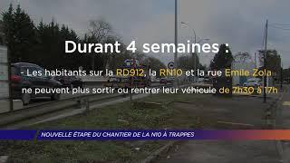Yvelines | Nouvelle étape du chantier de la N10