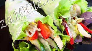 Блины с рисовой бумаги - Наталья Ким(Видео приготовления открытых блинчиков из рисовой бумаги. Рецепт не сложный доступен всем.., 2014-11-06T07:18:25.000Z)