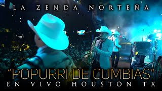 La Zenda Norteña - Popurri De Cumbias (En Vivo) Houston
