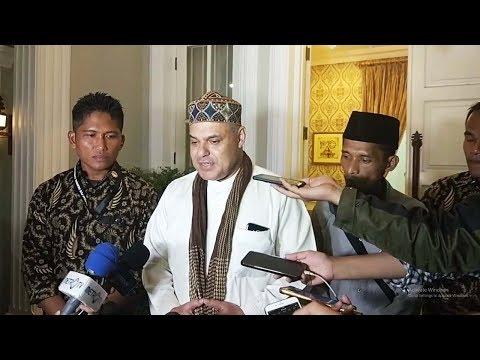 Datang Temui Ma'ruf Amin, Haddad Alwi Bantah Bertujuan Berikan Dukungan di Pilpres 2019