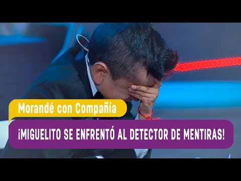 ¡Miguelito se enfrentó al detector de mentiras! - Morandé con Compañía 2017