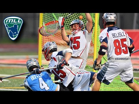 MLL Week 15 Highlights: Boston Cannons at Ohio Machine