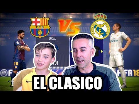 FC BARCELONA VS REAL MADRID - FIFA 18 - EL CLASICO