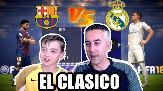 Download FC BARCELONA VS REAL MADRID - FIFA 18 - EL CLASICO Mp3 and Videos