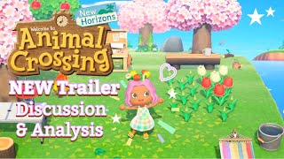 Animal Crossing New Horizons | NEW Trailer Discussion & Analysis 🏝️✨