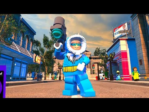 Lego Dc Super Villains Captain Cold Open World Free Roam Gameplay Pc Hd 1080p60fps Youtube