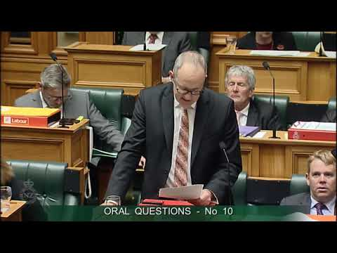 Question 10 - Hon Judith Collins to the Minister of Housing and Urban Development