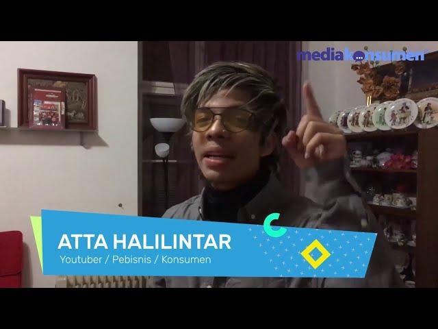 Atta Halilintar tentang MediaKonsumen.com