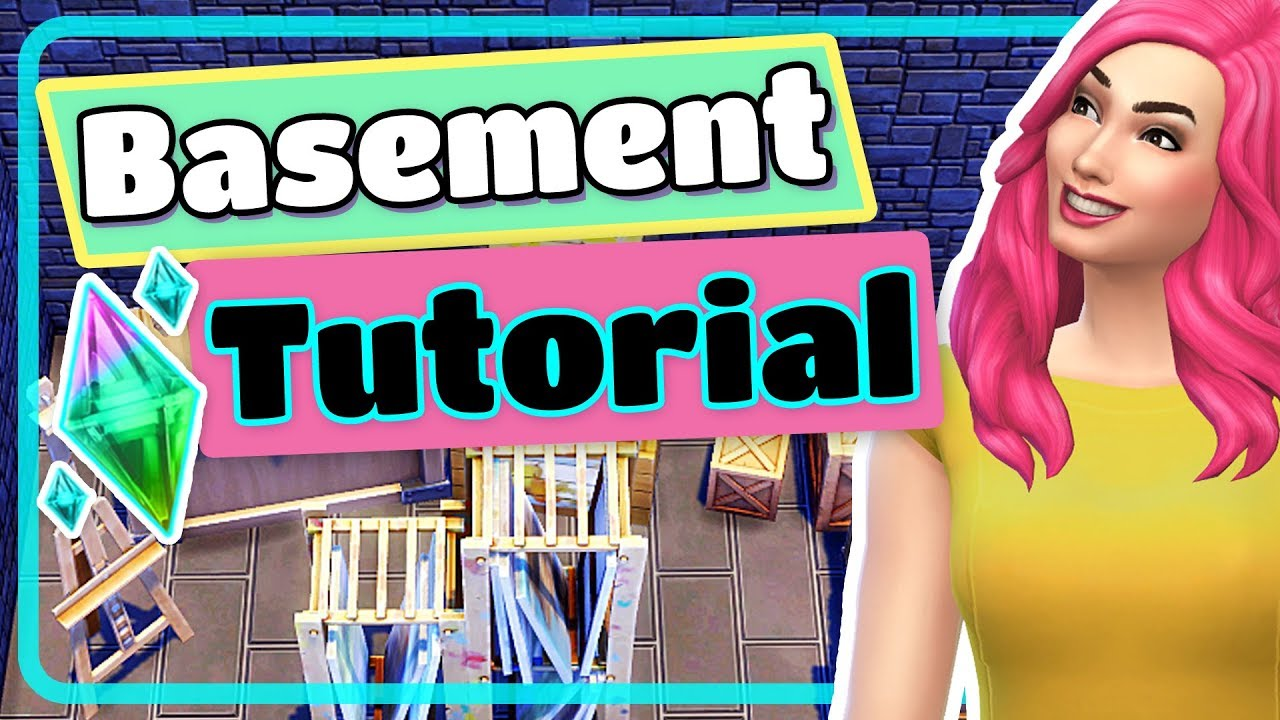 the sims 4 how to create a basement tutorial for beginners youtube rh youtube com