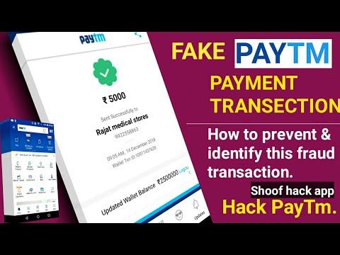 How make/create/generate unlimited fake paytm transactions, Spoof PayTm  hack? 2018/19