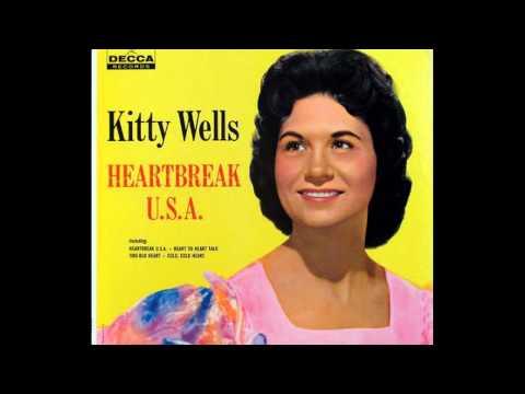Kitty Wells- Heartbreak, U.s.a. (Lyrics in description)- Kitty Wells Greatest Hits