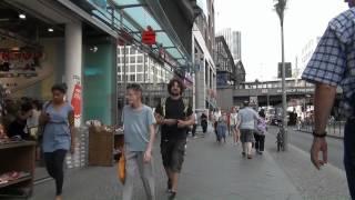 Germany: Berlin Friedrichstraße - People in the street