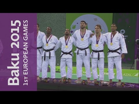Full Replay of the Men's Team Judo | Judo | Baku 2015 Europe