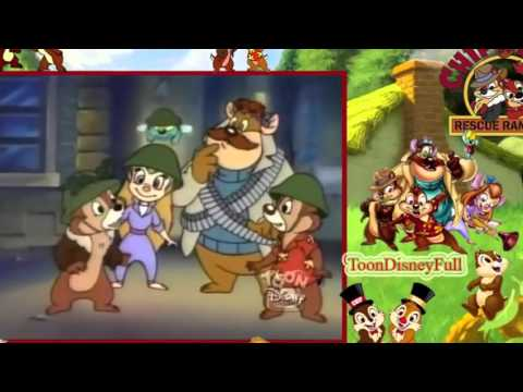 Chip and Dale The Rescue Rangers Puffed Rangers